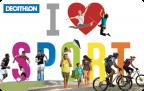 E-tarjeta I love Sport