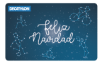 Tarjeta Navidad Constelación 2017